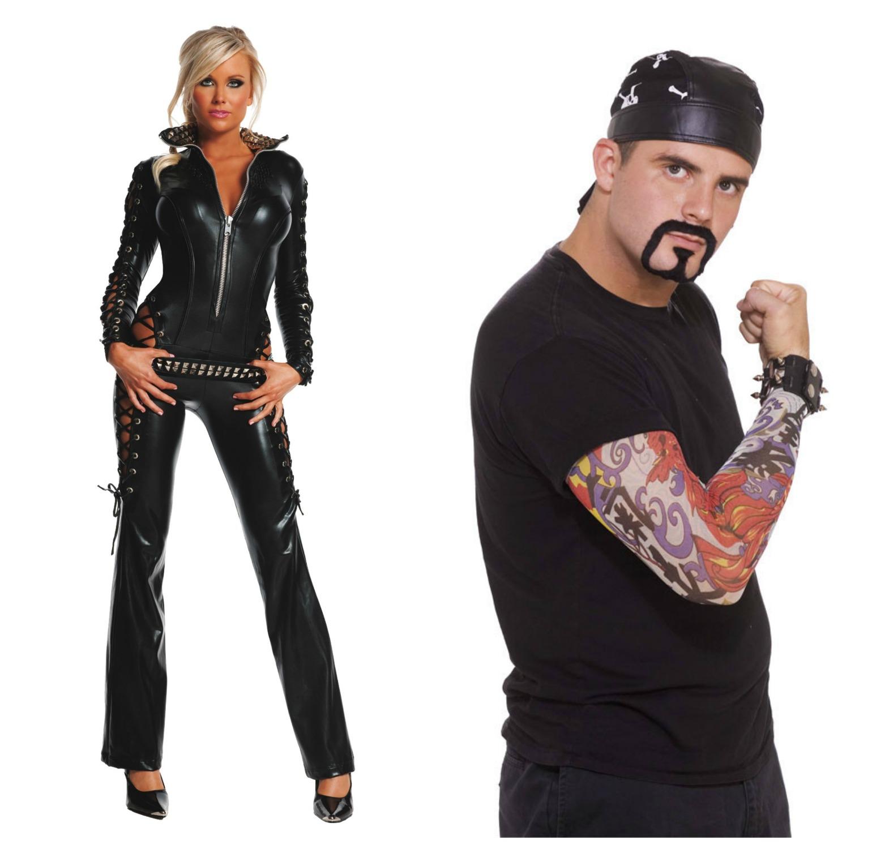 biker couple costume - photo #2