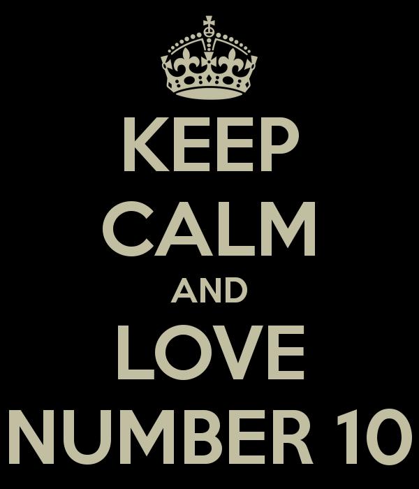 El juego de los números Keep-calm-and-love-number-10
